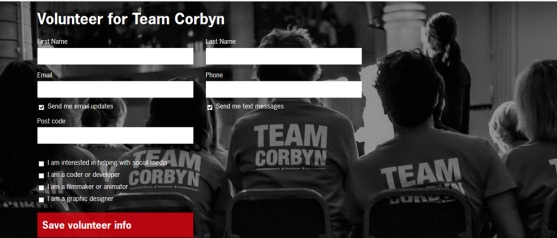volunteerforteamcorbyn